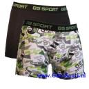 Gino Santi sport boxershort green